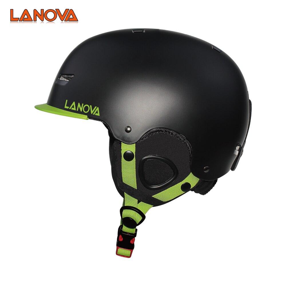 LANOVA brand ski helmet CE safety standard men and women children 3 snowboard helmet