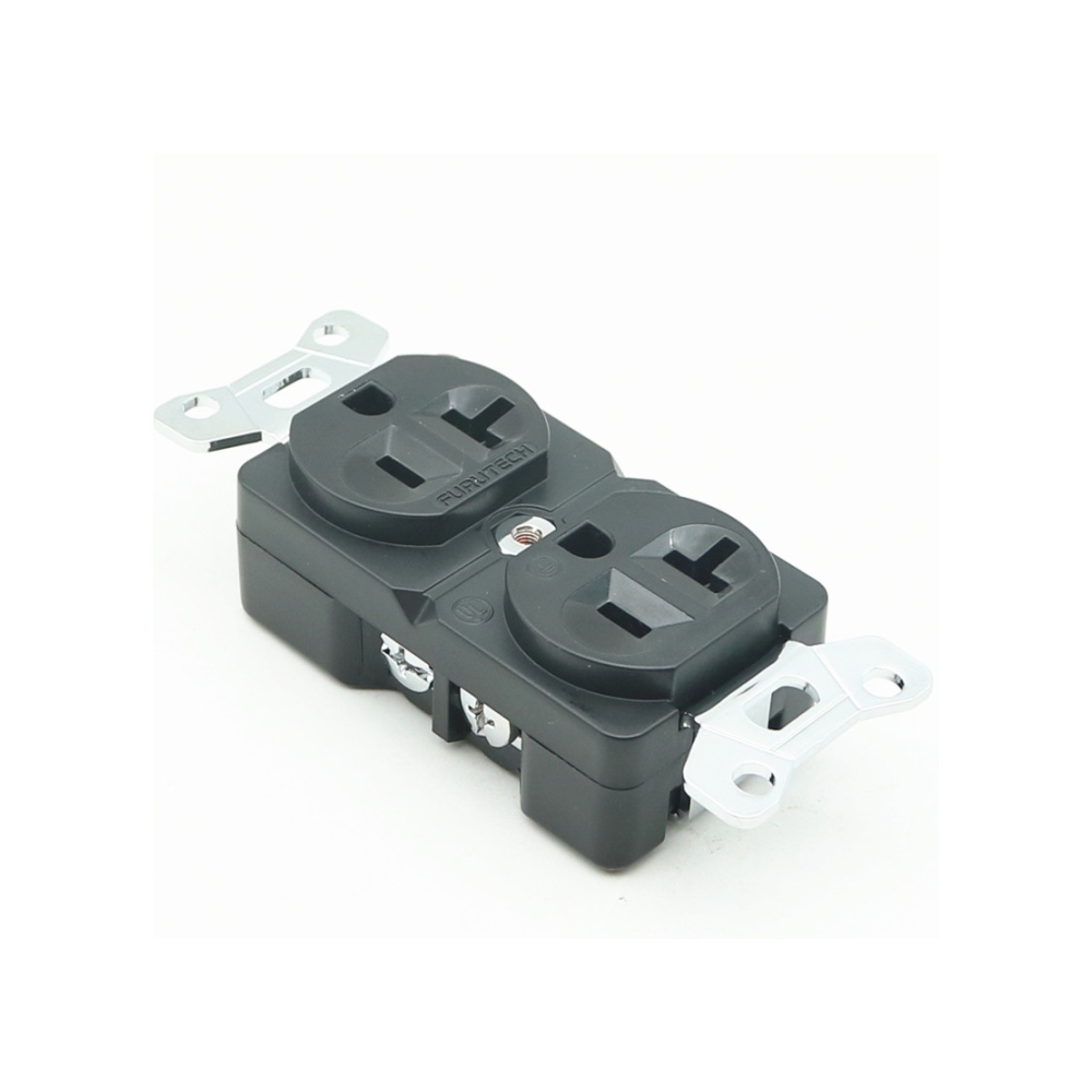 Furutech Rhodium plated US AC Duplex Receptacles Wall Outlet Power Distributor