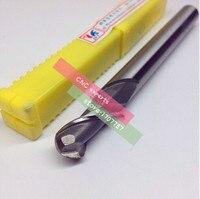 O envio gratuito de Alta Qualidade 10 pcs R0.5 ~ R5 Alongar Bola end cortador de trituração  2 Flauta HSS & Aluminium da Fresadora CNC de Corte Bits|flute hss|end milling cutter|cnc bit -
