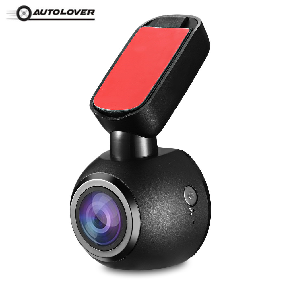 Mini Car Dash Cam Q1 1080P FHD Car DVR 170 Degree Angle Car Dash Camera Driving Recorder Parking Monitor Loop Recording G-sensor