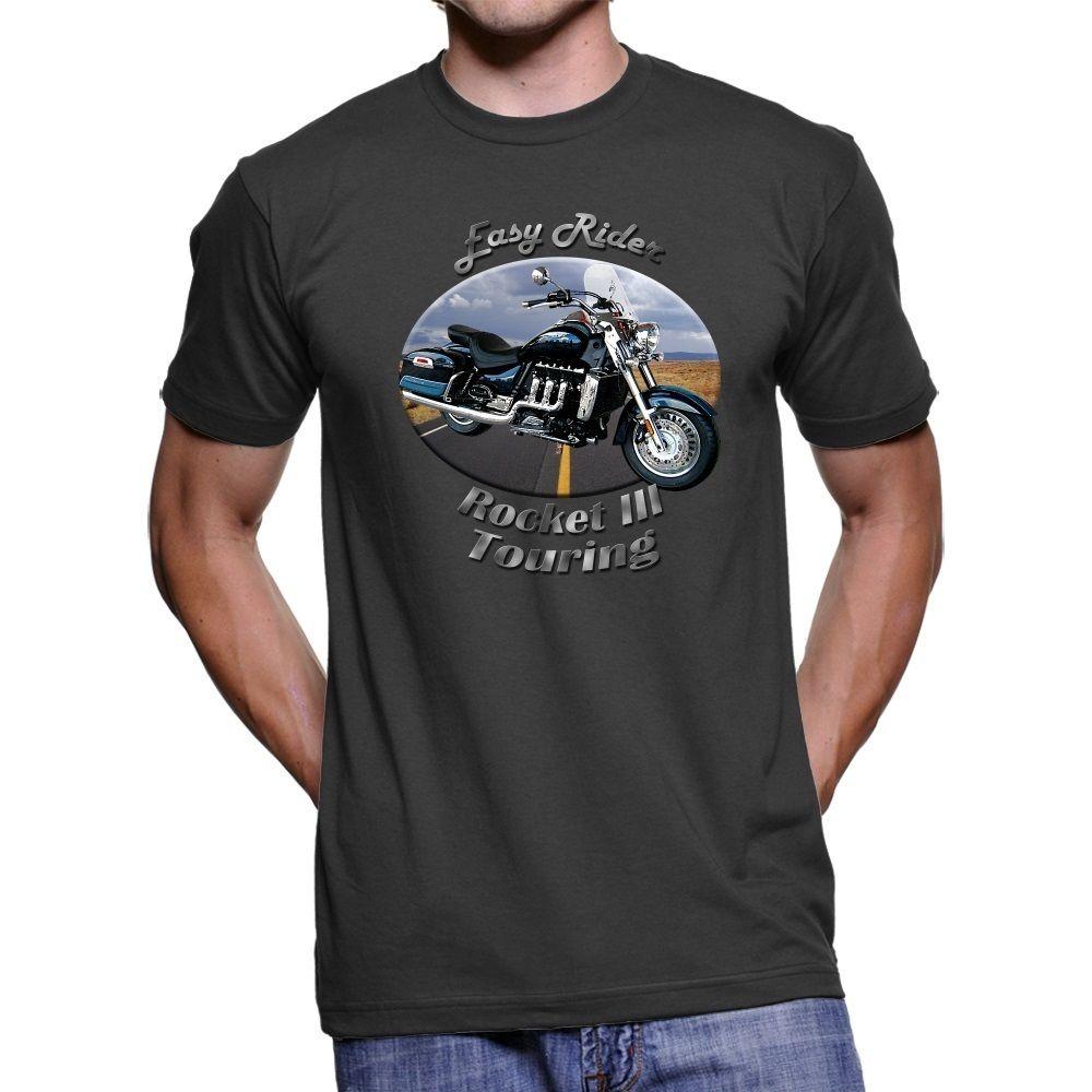 2018 Fashion Hot sale British Motorcycles Rocket III Touring Easy Rider Men T-Shirt Tee shirt
