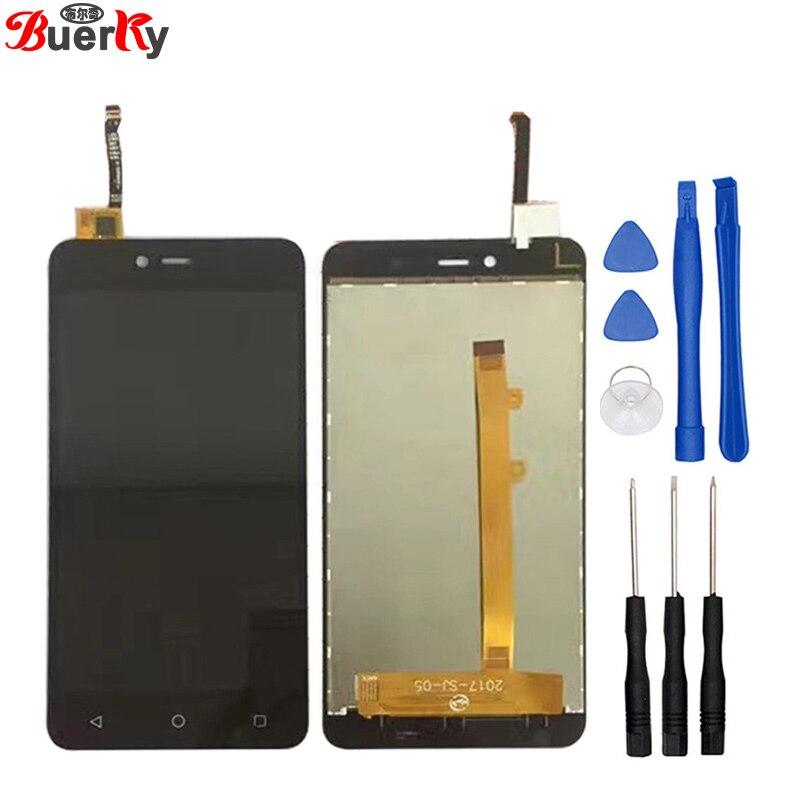 BKparts Bon Test Pour Highscreen Facile L LCD Affichage Écran Tactile En Verre Digitizer EasyL Remplacement de L'assemblée Complet