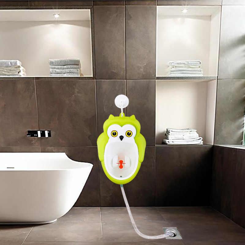 Для маленьких мальчиков настенный крюк животные горшок для туалета обучающий стенд вертикальный писсуар для Дети Младенцы Малыши ванная комната уход за малышом