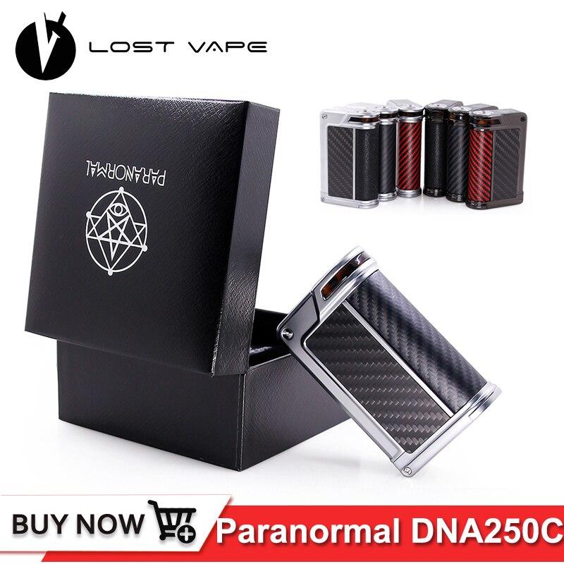 Originale PERSO VAPE Paranormale DNA250C box mod 200 w DNA250 Riproduzione Sigaretta Elettronica Vape Mod Alimentato Da Evolv DNA 250C bordo