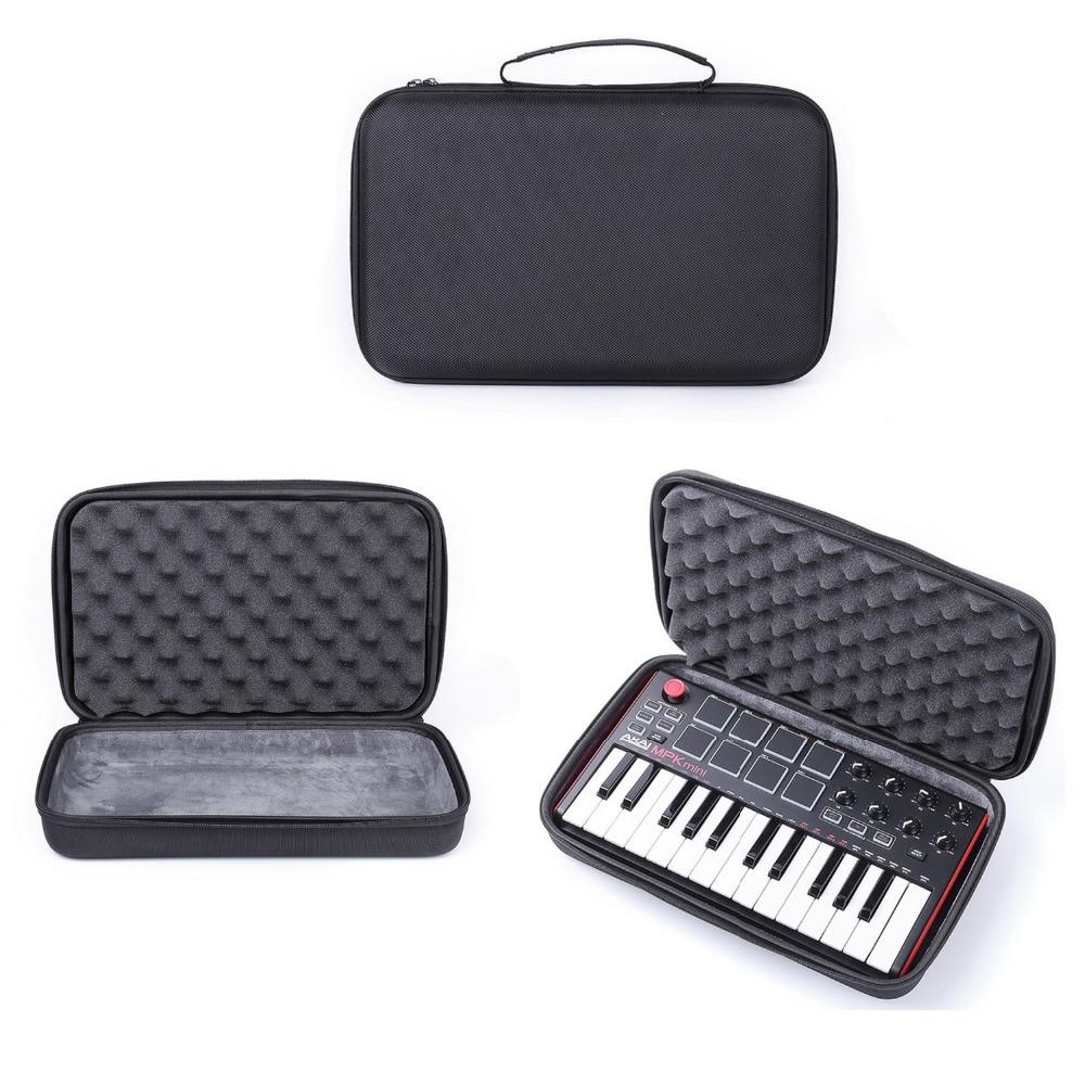Viaggi Custodia Rigida per Akai MPK Mini MKII  -chiave Professionale Ultra-Portable USB MIDI Drum Pad & Controller della tastiera