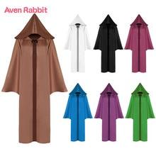 Aven кролик семи-Цвет смерть плащ COS Костюмы Звездные войны косплей Тренч для мальчика пальто для детей