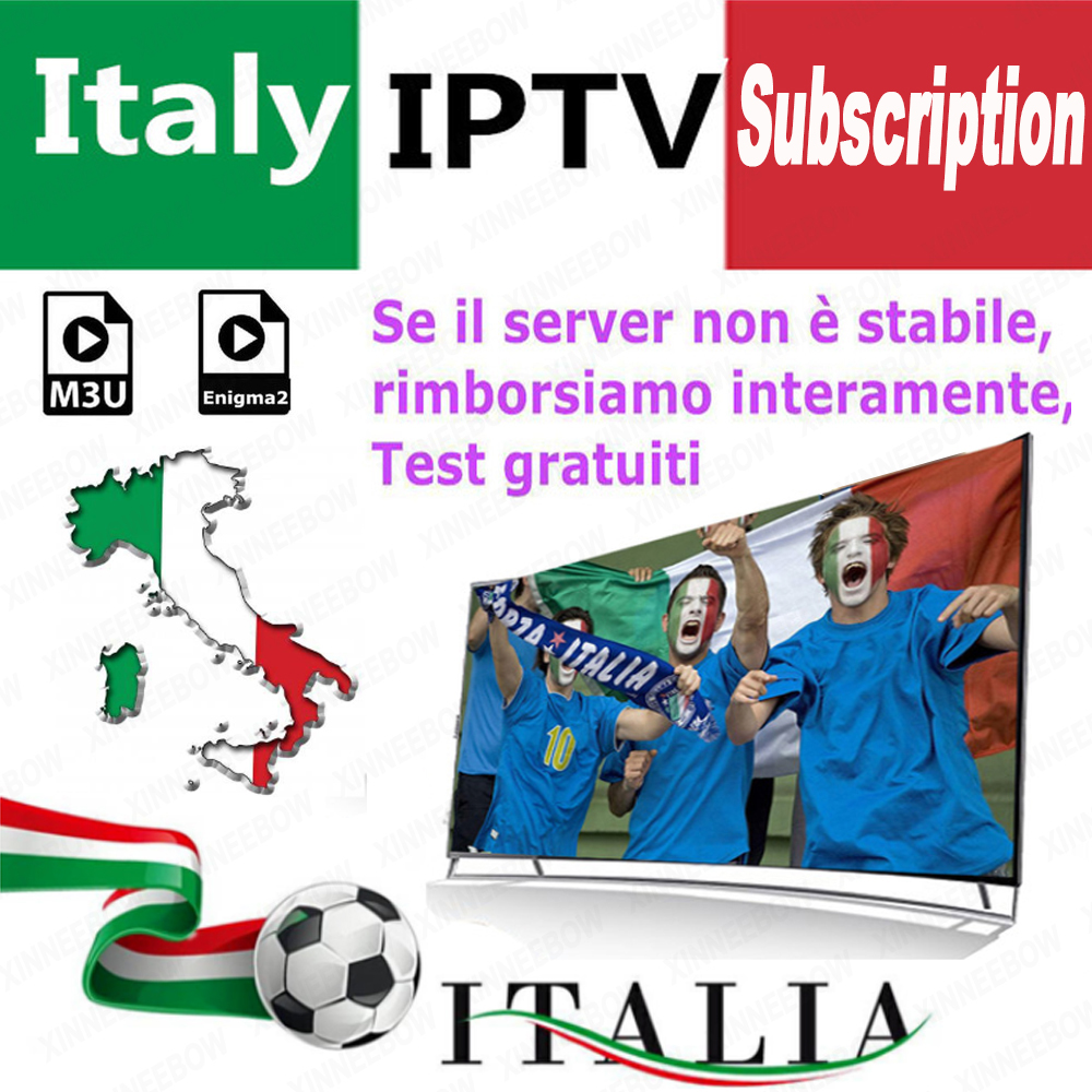 Stable IPTV VLC Poland Italy German Enigma2 Smart-Tv Premium Mediaset French M3u Best