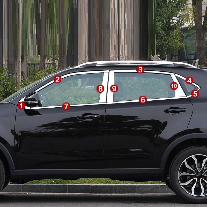 Окно автомобиля изменение Тюнинг автомобилей protecter аксессуары украшения обложки яркими блестками модификации 17 для MG GS