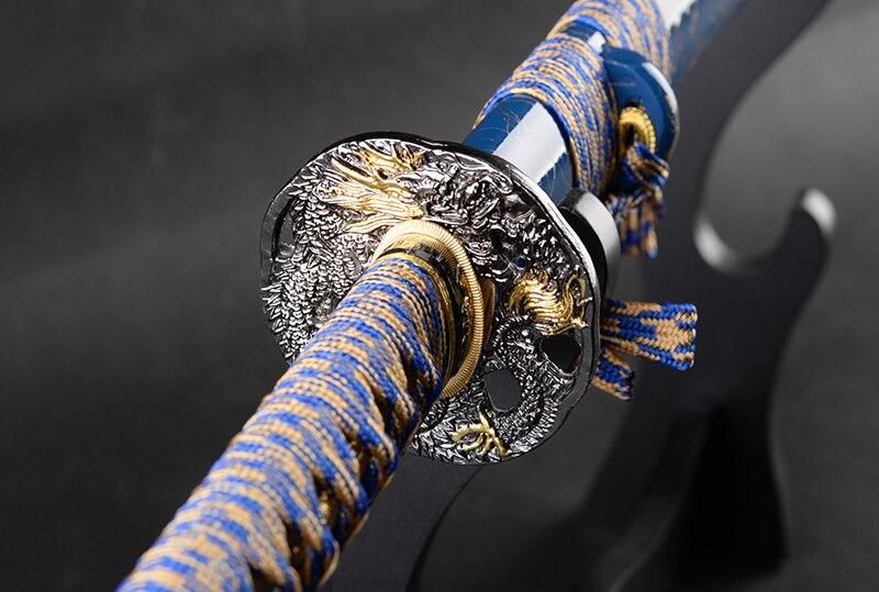 ΠΛΗΡΗΣ ΚΟΠΗ Ιαπωνικό σπαθί σαμουράι - Διακόσμηση σπιτιού - Φωτογραφία 3