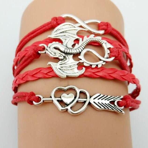 Game of Thrones Men Leather Bracelet  1