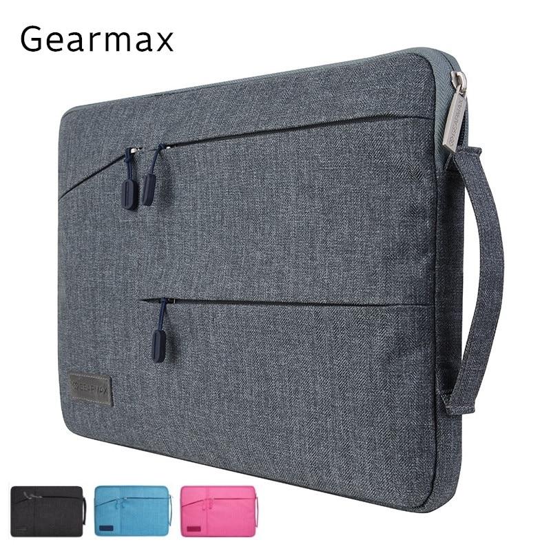 2017 Brand Gearmax Bag For Laptop 13 15 6 inch Handbag Case For Macbook Notebook Air