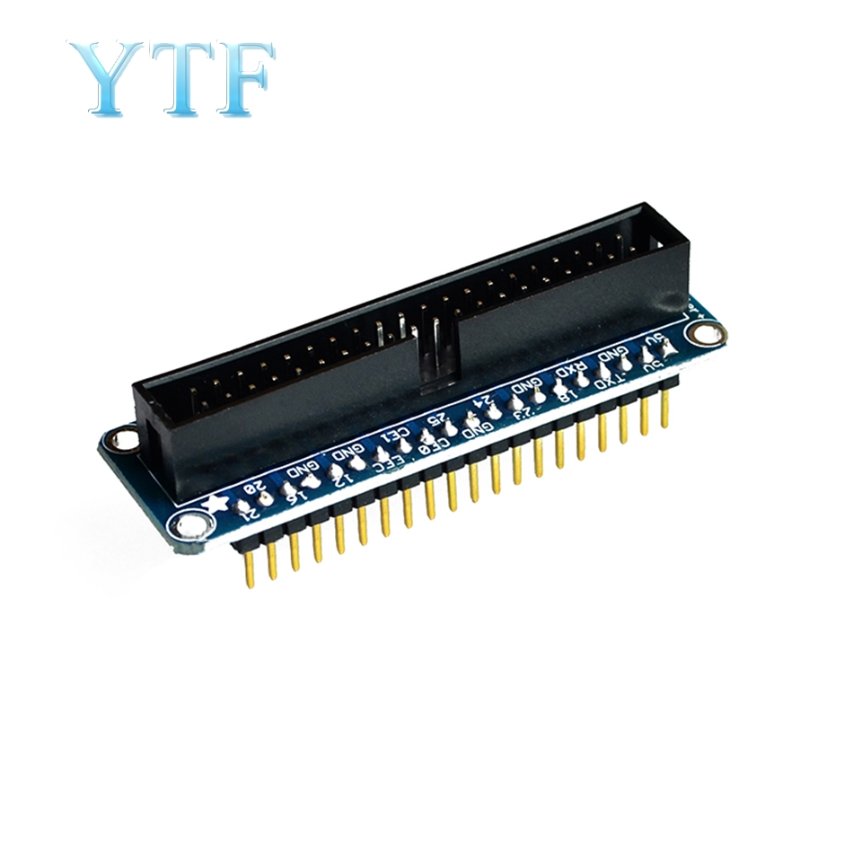 Raspberry PI B+ GPIO Adapter Plate 40-Pin For Breadboard Expansion Board