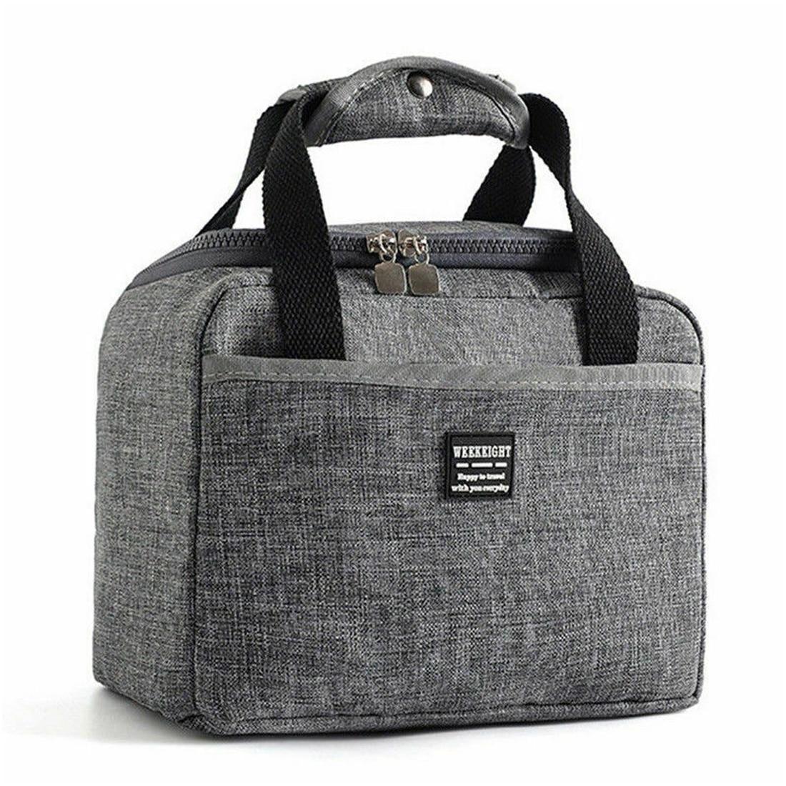 edf992e779b6 Oeak непромокаемые Изолированные сумки для обедов Оксфорд путешествия  необходимо Пикник сумка унисекс термальность ужин короб