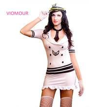 9802 Exotic Apparel Women Sexy Lingerie Hot Women Underwear Fantasias Erotic Sexy Sailor Costumes Halloween Costumes for Women