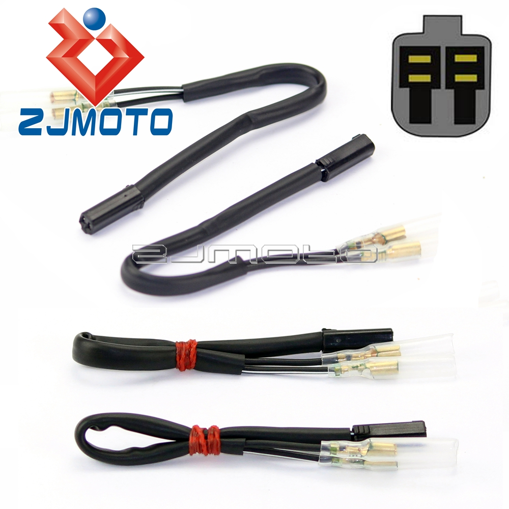 Turn Signal Wiring Adapter Plug for Suzuki GSX-R1000 750 600 Motorcycle Parts
