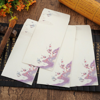 100pcs/lot Creative Students Stationery Gift Traditional Classical Aesthetic Craft Paper Envelope Chinese air envelope 21.5*11CM 1