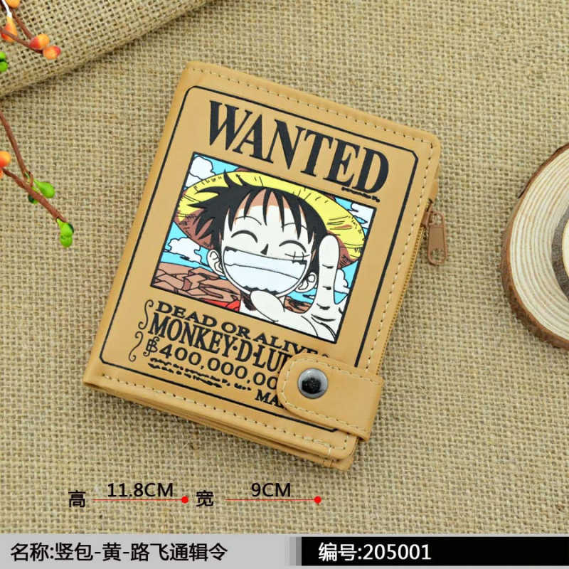 Carteira Magica Tokyo Ghou Attack on Titan Marca Wallet Bolsa Basculina Fairy Tail Coin Holder Comic Cute Purse for Children