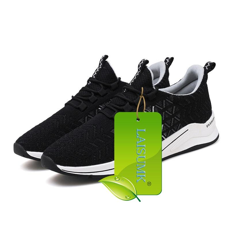 classic fit 41196 2d3a0 Chaude Noir Tenis Lumière Sneakers Superstar Marque rouge Homme Lace De  Occasionnels Luxe up Miubu Mesh Chaussures Appartements Hommes bleu  Respirant ...