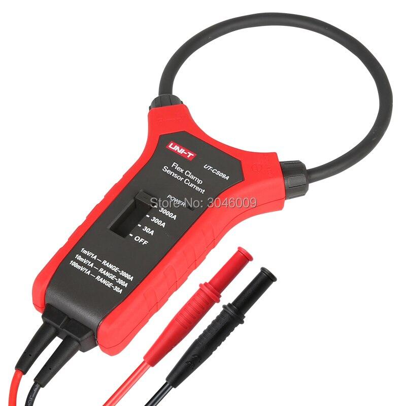 braçadeira medidor, osciloscópio multímetro atual sonda