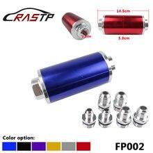 Алюминиевый Топливный фильтр с высоким потоком со стальным элементом