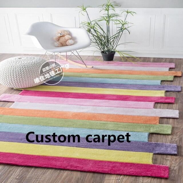 Ковров и ковровых покрытий коврики для дома гостиная в Ковры кухня ковер детская спальня ручной работы на заказ