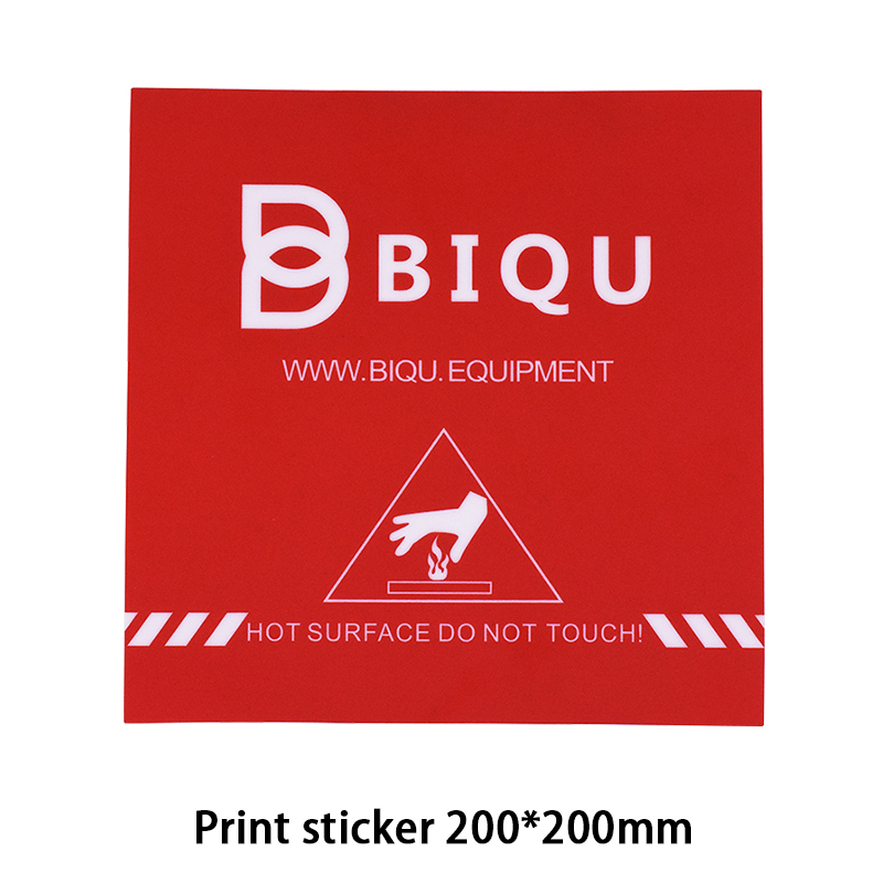 BIQU 1PC 200 200MM 3D Printer Accessories Red Painter Print Bed Tape Print Sticker Build Plate