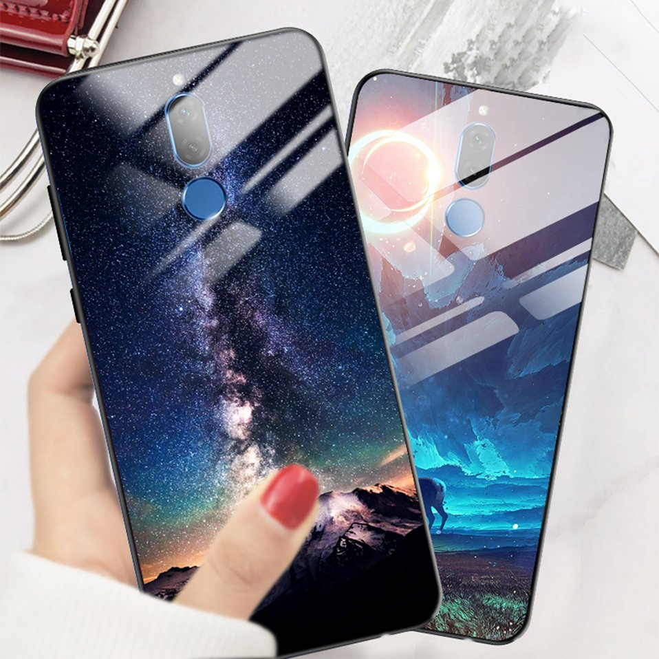 Phone Glass Case For Huawei Nova 3 2i Coque Silicone Luxury Case For Huawei P20 Pro Honor Play 7A 9 Mate 10 Lite P Smart Y6 2018 (14)
