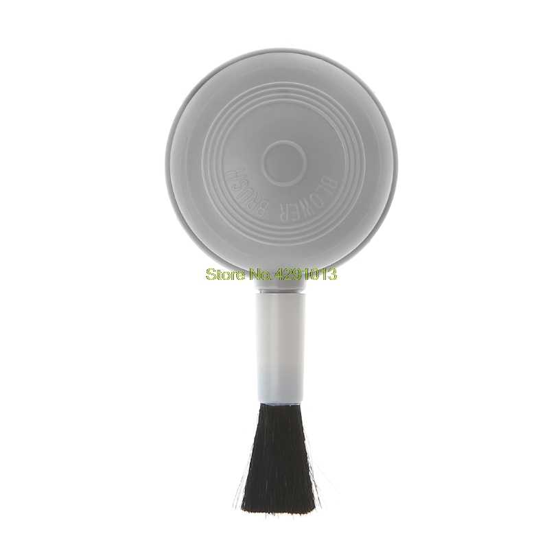 2 في 1 منفاخ الهواء فرشاة عصاري تنظيف الهواء الخرز منظف الغبار للكاميرا لين دعم قطرة الشحن