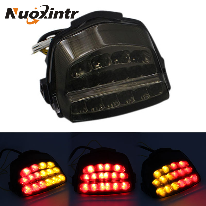 Nuoxintr Motorcycle Rear Tail Light Brake Turn Signals LED Light New Motorcycle Accessories For Honda CBR1000RR 2008-2016