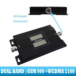 Image 3 - Lintratek GSM 900 WCDMA 2100 Cep sinyal güçlendirici çift bant 2G 3G tekrarlayıcı cep cep telefonu iletişim 2100MHZ amplifikatör