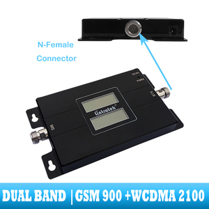 Image 3 - lintratek GSM 900 WCDMA 2100 Cellular signal booster dual band 2G 3G repeater mobile Cell phone communication 2100MHZ amplifier