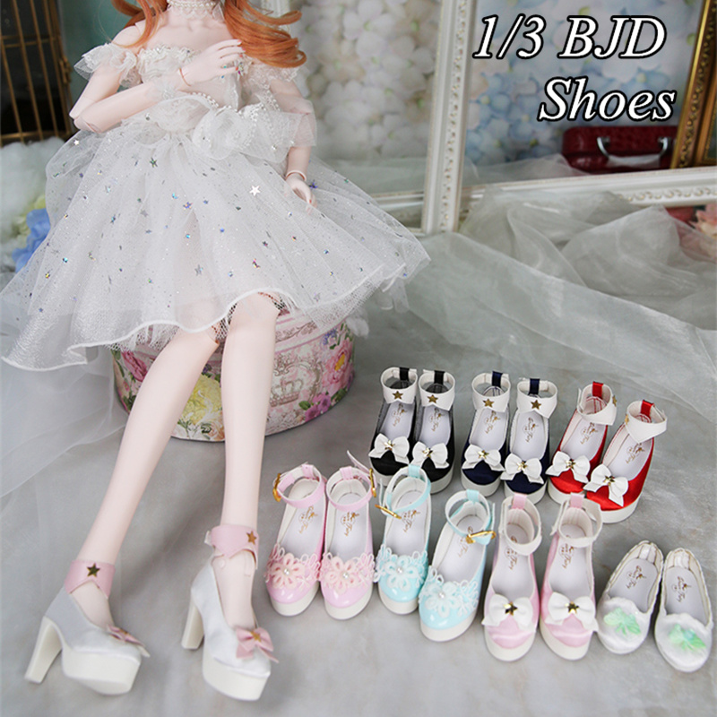 Dream Fairy Shoes for 1/3 Dolls Cute Rubber Shoes Suitable for 60cm Ball-jointed Dolls DIY Toy Doll Accessories Multiple Style