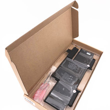 """3 PCS A1502 battery for Macbook Pro Retina 13.3"""" laptop A1582 Battery MF839 MF840 compatible 2015 year 11.42V / 74.9WH"""