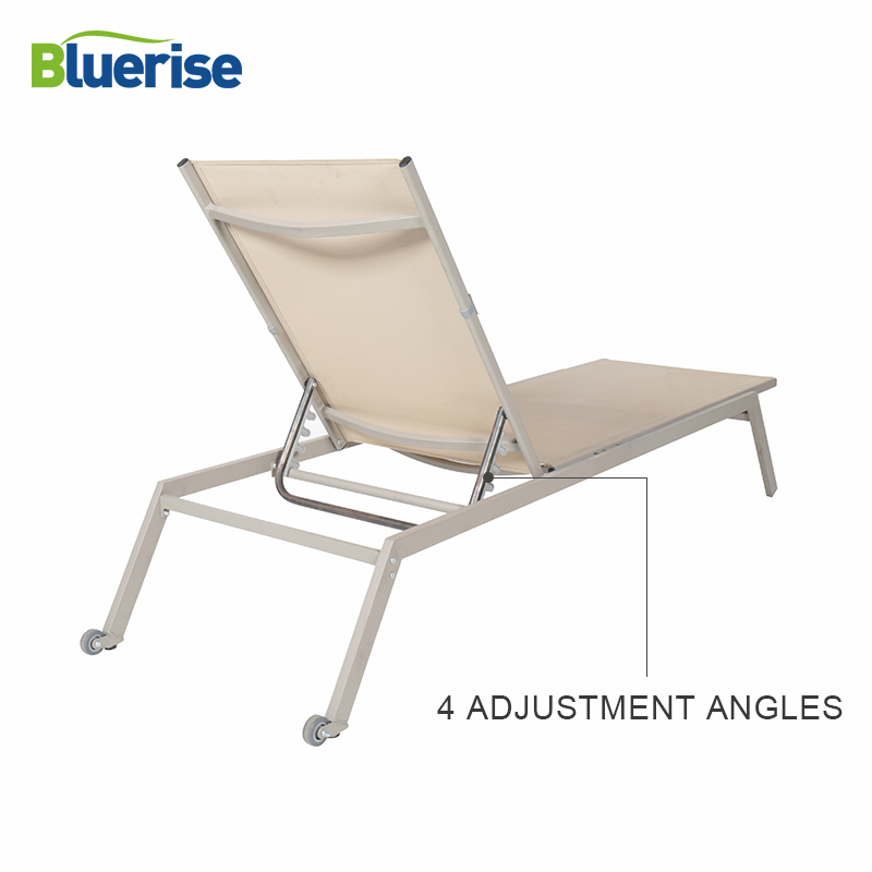 bluerise sun lounger chair outdoor patio furniture european style