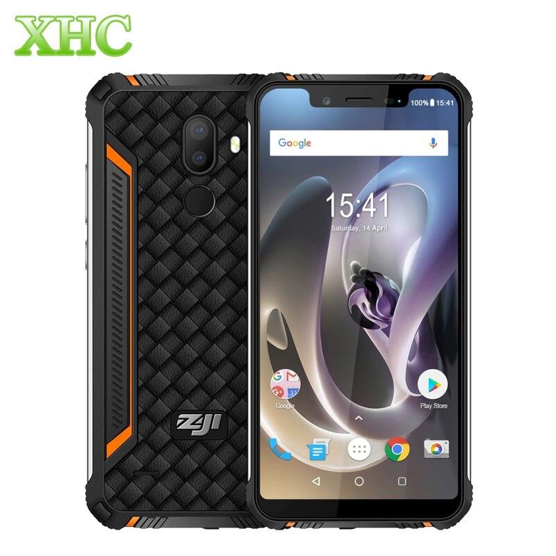HOMTOM ZOJI Z33 téléphone Mobile double SIM 4G 3 GB + 32 GB IP68 étanche 13MP 8MP 5.85 pouces Android 8.1 Quad Core téléphone intelligent