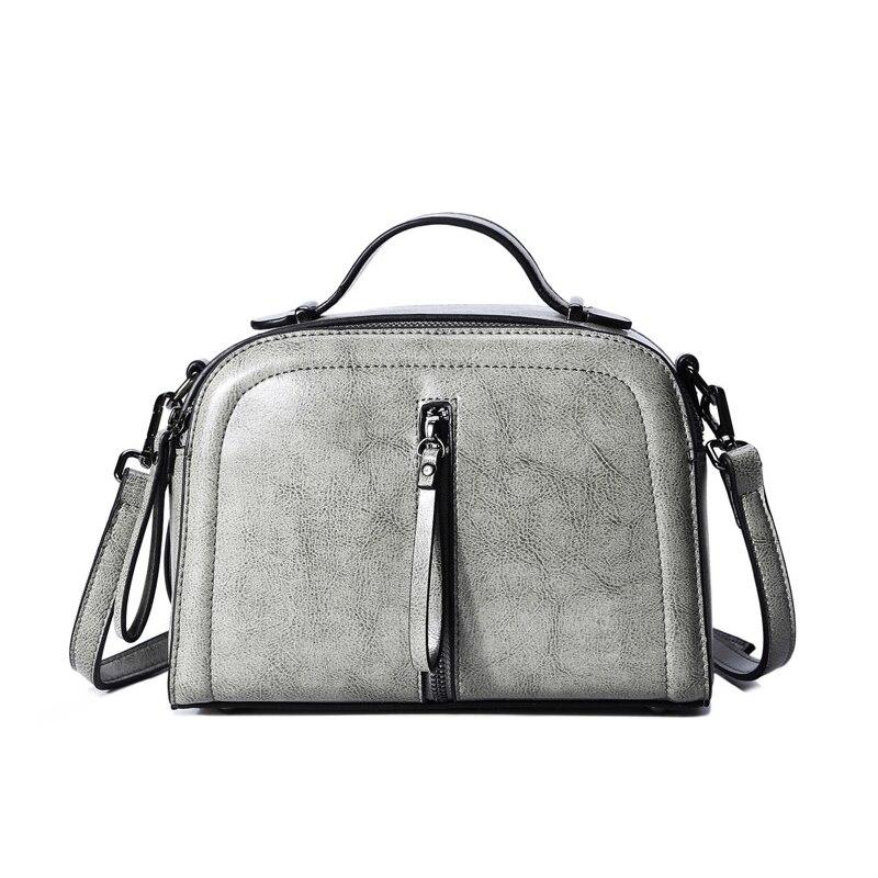 2018 Promotion 100% Genuine Leather Luxury Female Handbag Designer Tote Strap Purse Small Shoulder Bag Handle Crossbody Flap Bag