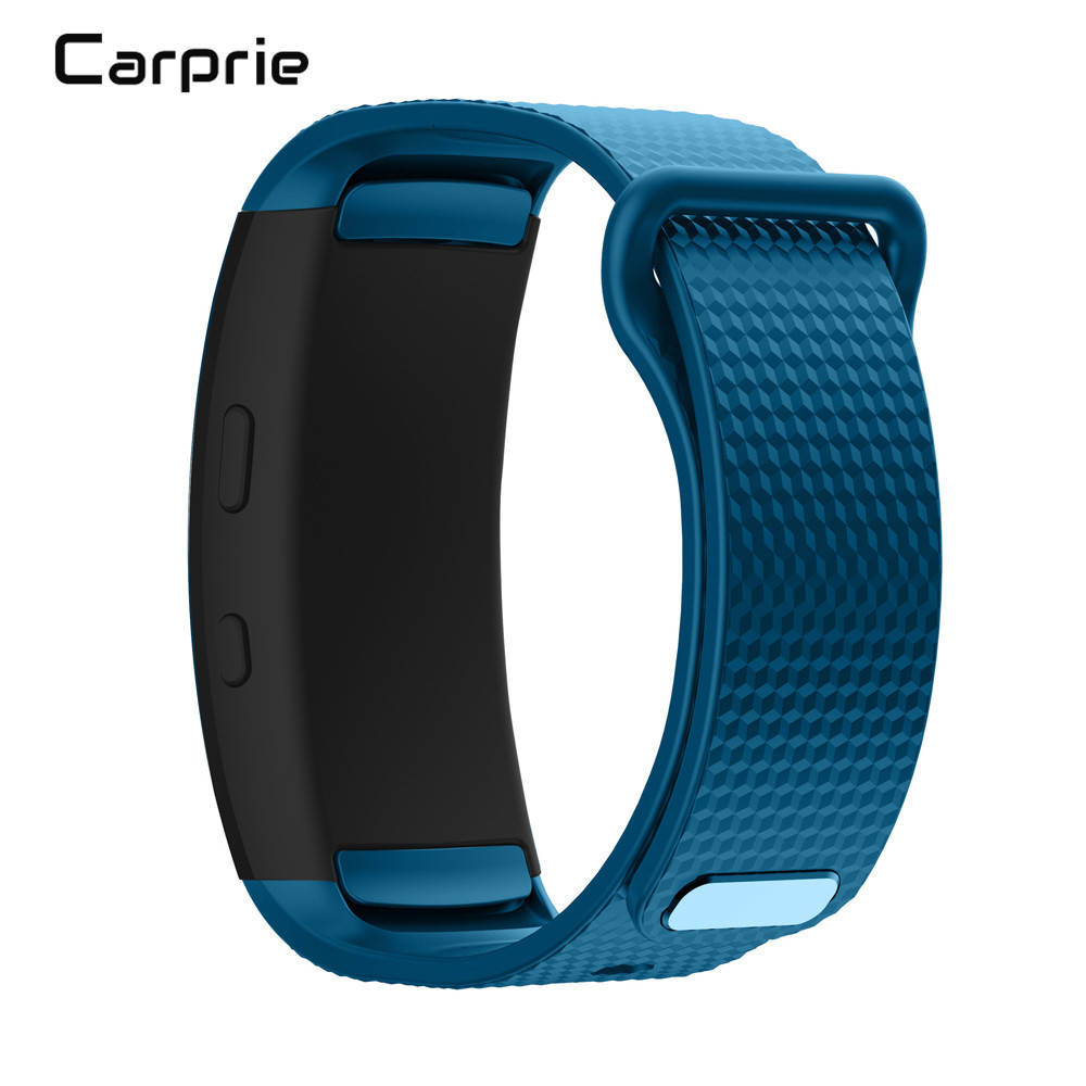 CARPRIE NEW Soft Silicone Replacement Band Sport Strap For Samsung Gear Fit2 Pro Fitness High quality nov29