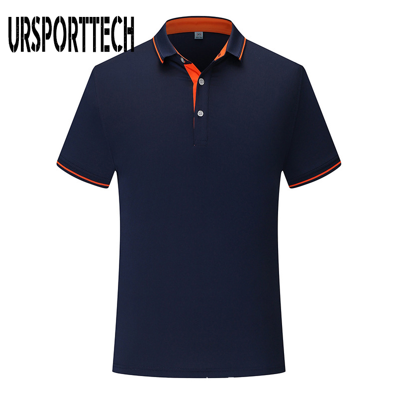 New 2019 Solid Color Summer Polo Shirts Men Casual Short Sleeve Breathable Anti-Pilling Brand Polos Para Hombre Plus Size XS-4XL