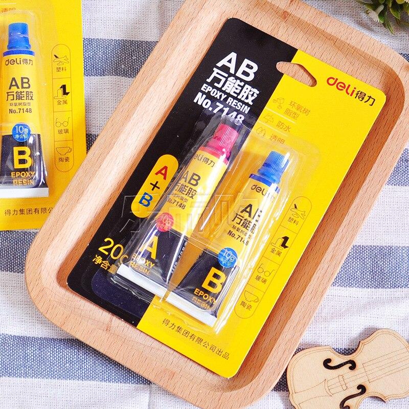 AB adhesive High Quality Epoxy ab Glue Metal Transparent Multi Purpose Adhesive Acrylic Resins Bonds Most Metals Fix Crafts Tool