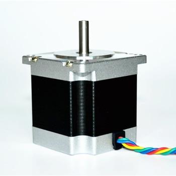 цена на DIY cnc router Nema 23 Stepper Motor 1.2Nm 3A 57*56 4-wires suitable Mill Lathe Plasma cutting machine