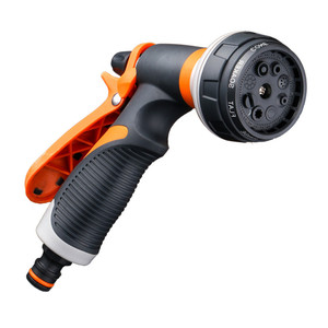 Image 3 - Garden Watering System Hose Nozzle Watering Spray High Pressure Water Sprinkler With 8 Watering Function No Leakage Hose Nozzle