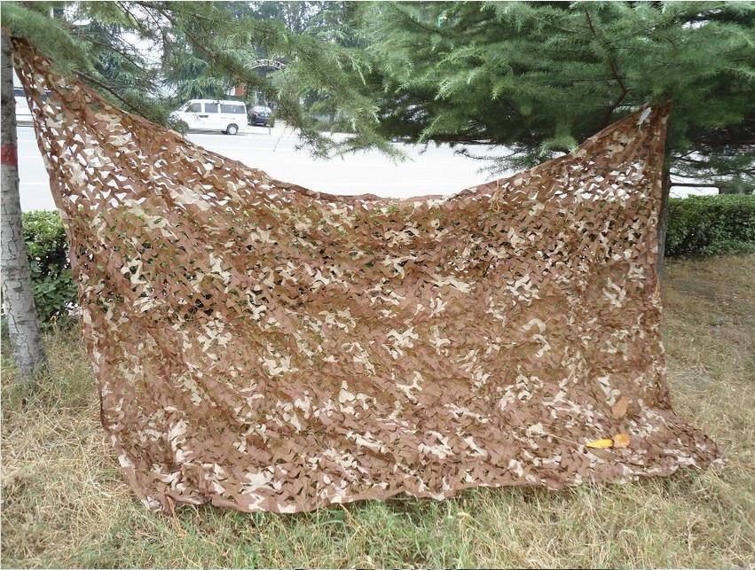 2.5X3 M Camouflage Militaire Net Camo Filet Désert Couvre la Tente pour la Chasse En Plein Air Camping dans Abri du soleil de Sports et loisirs
