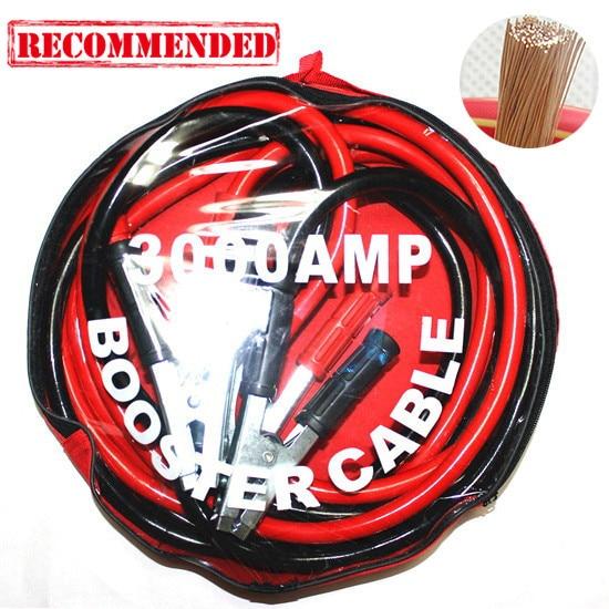 Высокое качество 36 мм 4м провода кабель ракеты-носителя автомобиля аварийный инструмент перемычку Автомобильный Аккумулятор FireWire кабеля медного зажима
