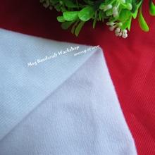 50*150 см белый отбеливатель сплошной цвет флисовая ткань Tissu плюшевая ткань для куклы подушка швейная бархатная флисовая ткань полметра 293
