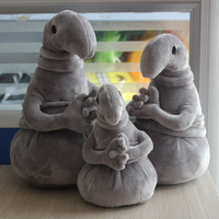 Russia Dolls Stuffed Toys ZHDUN Waiting Plush Toy Zhdun Meme Tubby Gray Blob Zhdun Plush Doll
