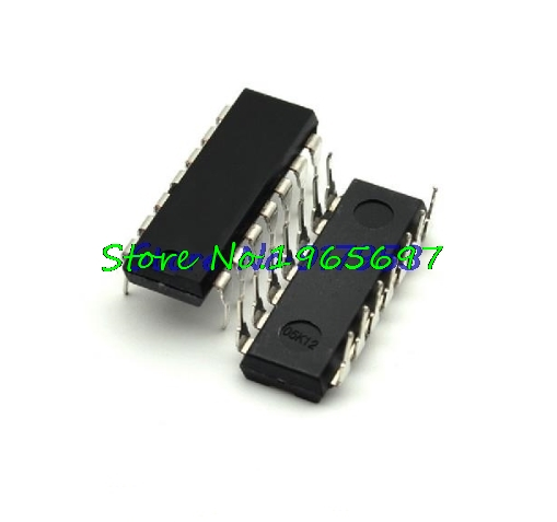 10pcs/lot 74HC74N 74HC74 7474 DIP-14 In Stock