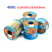 MECHANIC 400G 0.3/0.4/0.5/0.6/0.8MM Low Temperature Lead Free Soldering Tin Wire Soldering Wire Roll For Electronic Components