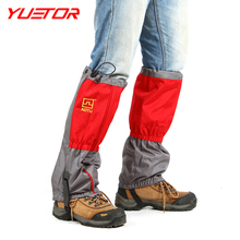 Brand YUETOR 1pair thickening lengthened gaiters leg protection 600D oxford hunting snow legging gaiters