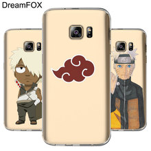 Naruto's Phone covers for Samsung Galaxy Note S 3 4 5 6 7 8 9 Edge Plus Grand Prime