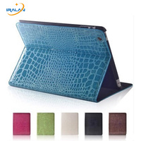 New Luxury Crocodile Pu Leather Smart Case Cover For Apple IPad Air Ipad 5 Magnetic Stand